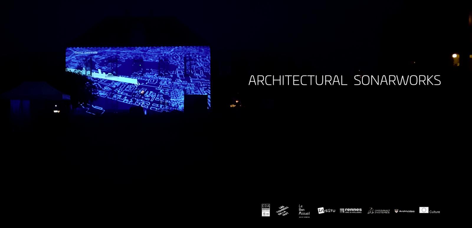 architectural sonarworks   plasticien